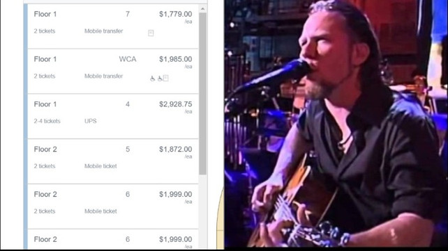 Metallica Fans Outraged as 'S&M 2' Presale Tickets Are