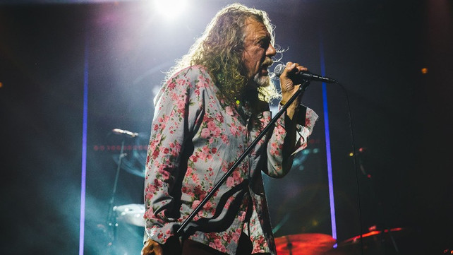 Watch: Robert Plant Performed Led Zeppelin's 'Immigrant Song