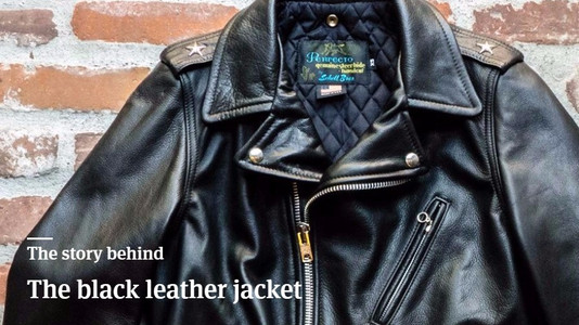 The Story Behind the Black Leather Jacket