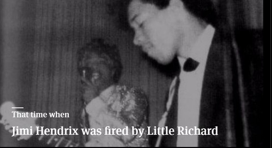 That Time When Jimi Hendrix Was Fired by Little Richard