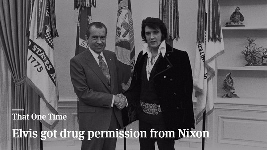 That One Time When Elvis Got Drug Permission From President Nixon