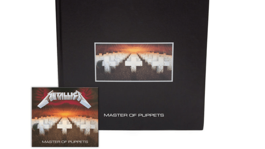 Metallica Detail Expansive Master of Puppets Box Set