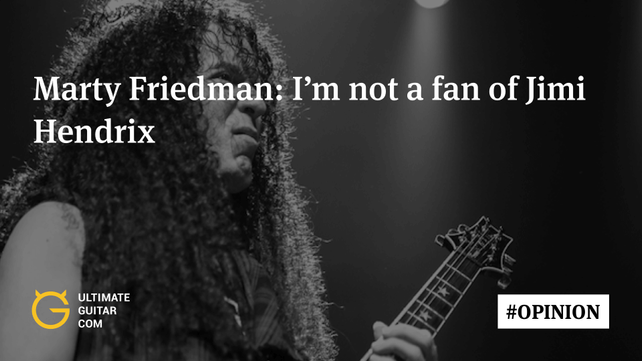 Marty Friedman on Saying He\'d \'Rather Chew Glass Than Listen to ...
