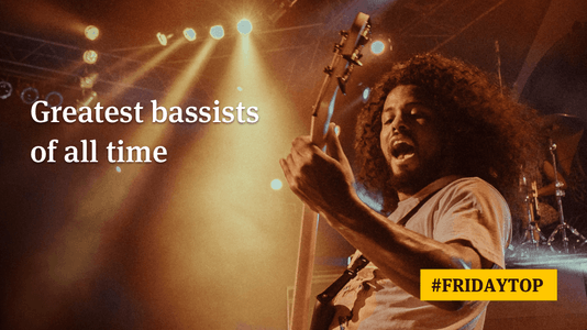 Friday Top: 30 Greatest Bassists of All Time