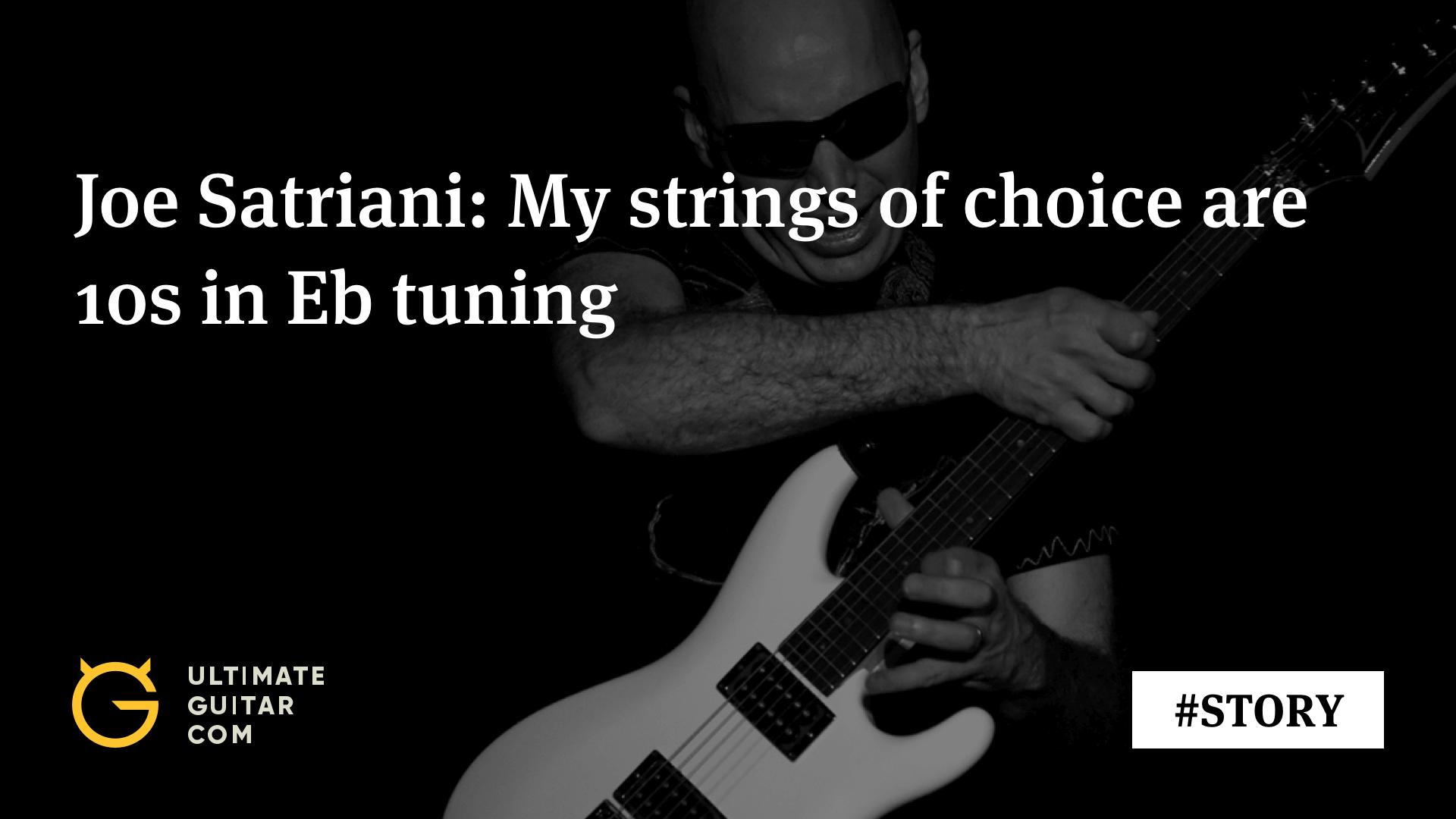 joe satriani what 39 s my ideal string gauge music news ultimate guitar com. Black Bedroom Furniture Sets. Home Design Ideas