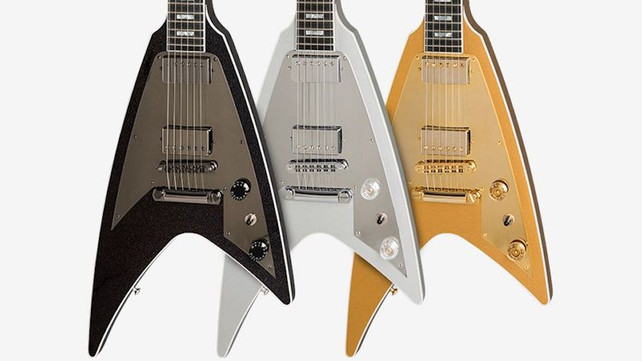 Gibson Officially Introduces Modern Flying V Guitar: The