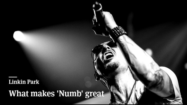 Analysis What Makes Linkin Parks Numb Great Music News