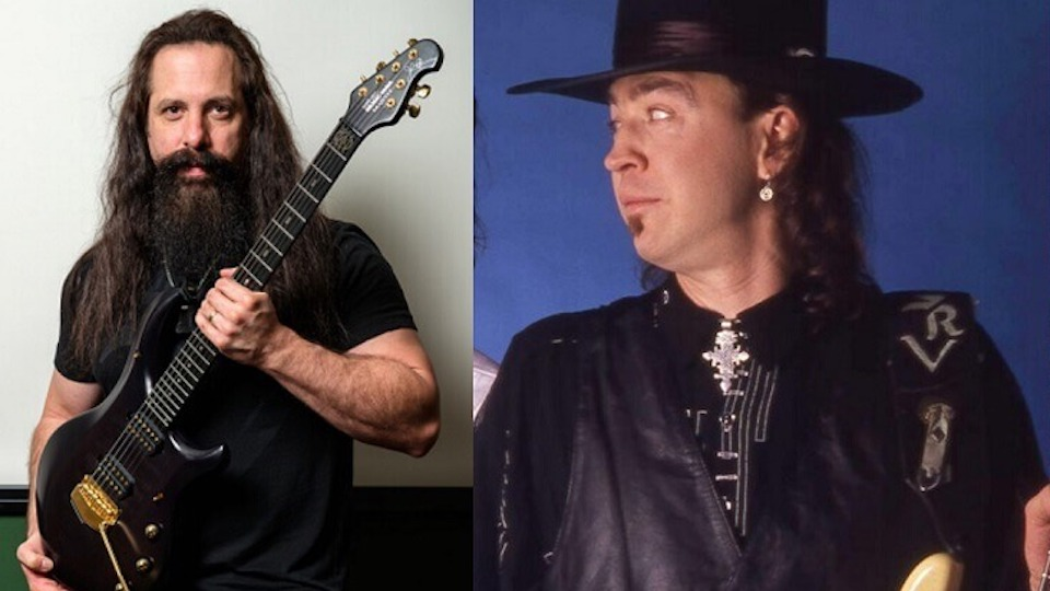 John Petrucci If I Could Pick Up Even 2 Of Stevie Ray Vaughans