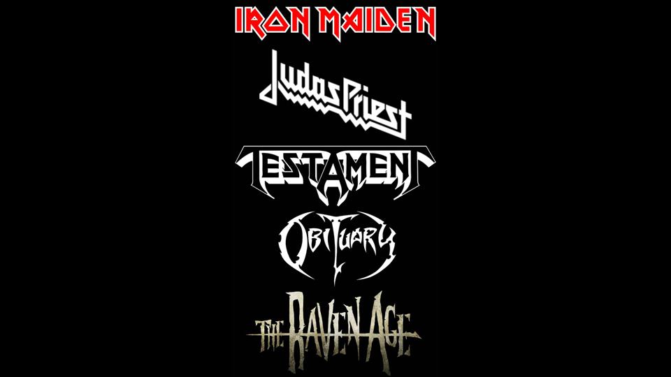 Iron Maiden Tour 2020 Usa.Ultimate Metal Tour Rumor Iron Maiden Judas Priest