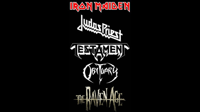 Iron Maiden Tour 2020.Ultimate Metal Tour Rumor Iron Maiden Judas Priest