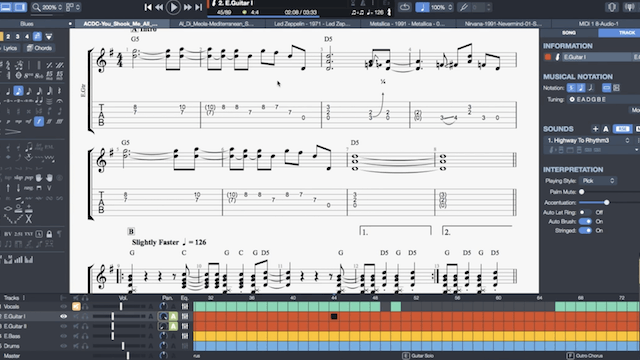 New Software: This Is What Guitar Pro 7 Looks Like | Music