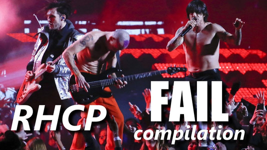 Watch: Here's a Compilation of RHCP Failing Onstage