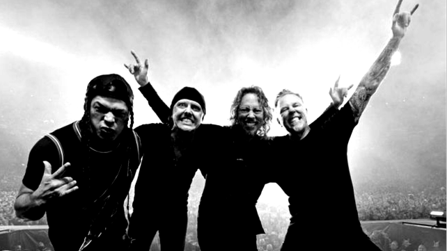 Watch Metallica Share Rehearsal Footage From Baltimore Music News