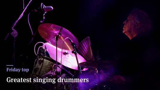 Friday Top: 25 Greatest Singing Drummers