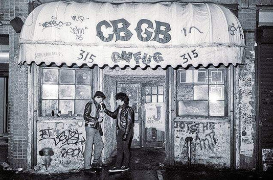 Legendary Music Venues. The Story Of CBGB