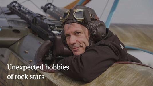 10 Unexpected Hobbies of Rock Stars
