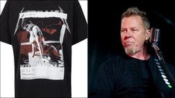 Hetfield Reacts to Kylie & Kendall Jenner Selling Unauthorized Metallica T-Shirt: 'It's Disrespectful'