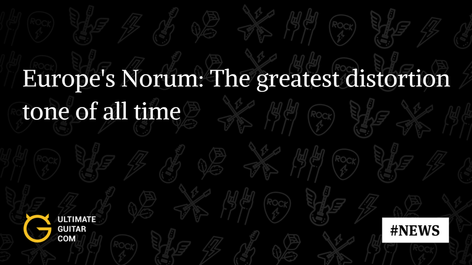 Europes John Norum How To Know If Youre Using Too Much Distortion
