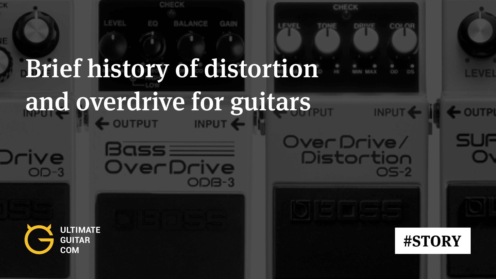 Distortion And Overdrive Brief History Of Development Articles