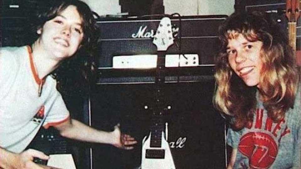 Lars Ulrich How I Met James Hetfield Music News Ultimate Guitar Com