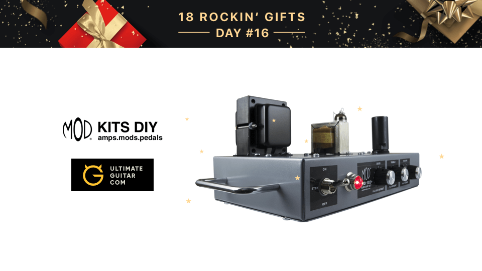 18 rockin gifts win a mod 102 guitar amp kit music news build your own amp with this easy do it yourself mod 102 guitar amp kit this one is based on the classic american tube circuit design with a solutioingenieria Image collections