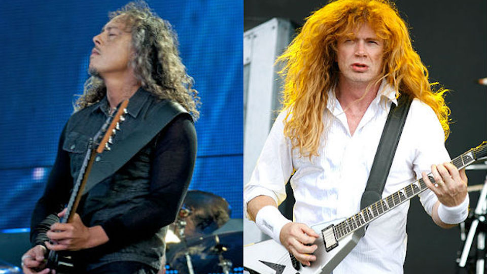Dave Mustaine Im Bothered By Metallicas Attitude Towards Big 4