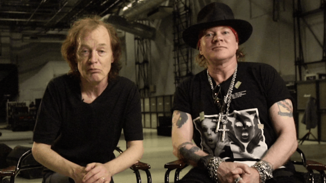 Report: Angus Young Is Working on New AC/DC Album With Axl Rose