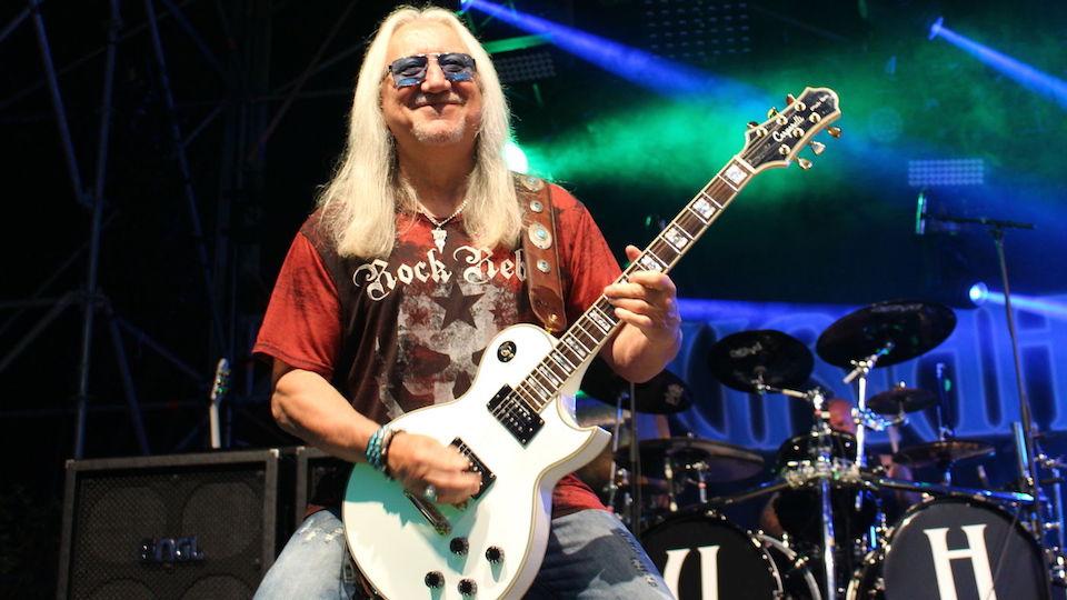 Uriah Heep S Mick Box We Had Big 4 In The 70s Black Sabbath Led Zeppelin Deep Purple Uriah Heep Music News Ultimate Guitar Com