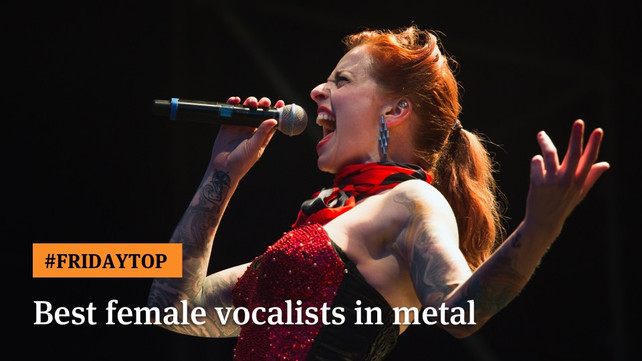 Friday Top 25 Best Female Vocalists In Metal Articles Ultimate Guitar Com