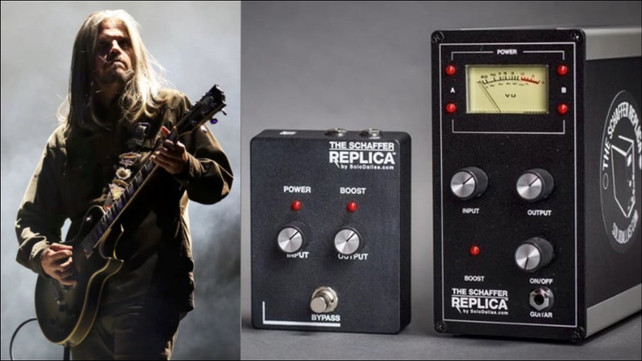 This Is One of the Pedals Adam Jones Is Using for New Tool Album