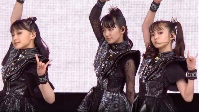 Babymetal Has Become the 1st Asian Act to Top Rock Albums ...