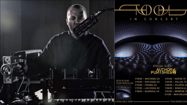 New Tool Album 2020.One Man Band Confirmed As Support For Tool On 2020 Tour