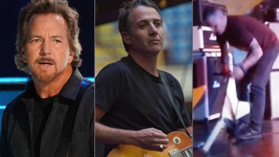 Photo of Pearl Jam Guitarist Speaks On How Band's Success Completely Changed Frontman Eddie Vedder, Says He Doesn't Support Mike McCready Smashing Guitars [News]