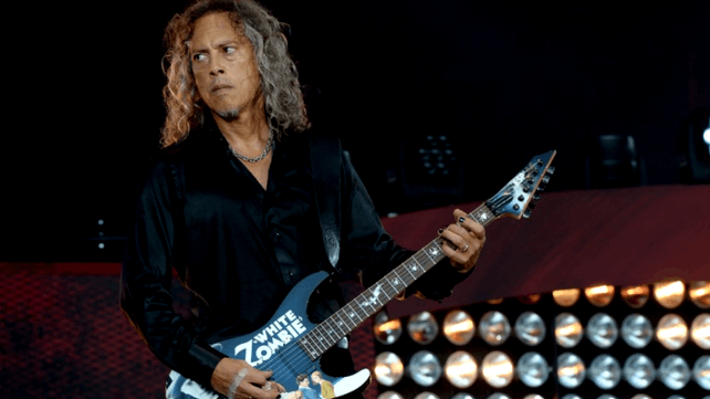 Kirk Hammett I Dont Even Remember Recording Moth Into Flame Solo