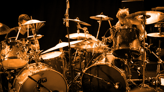 30 Bands With Two or More Drummers