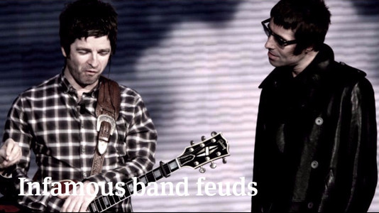 10 Infamous In-Band Feuds