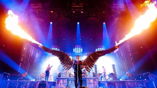 Top 10 Rammstein Live Stunts
