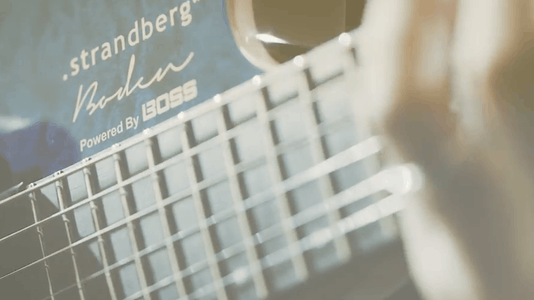 Boss & Strandberg Joined Forces to Create 'One of the Most Powerful & Versatile Electric Guitars Ever'