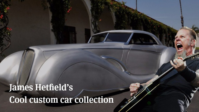 James Hetfields Cool Custom Car Collection Articles Ultimate - Custom car cool