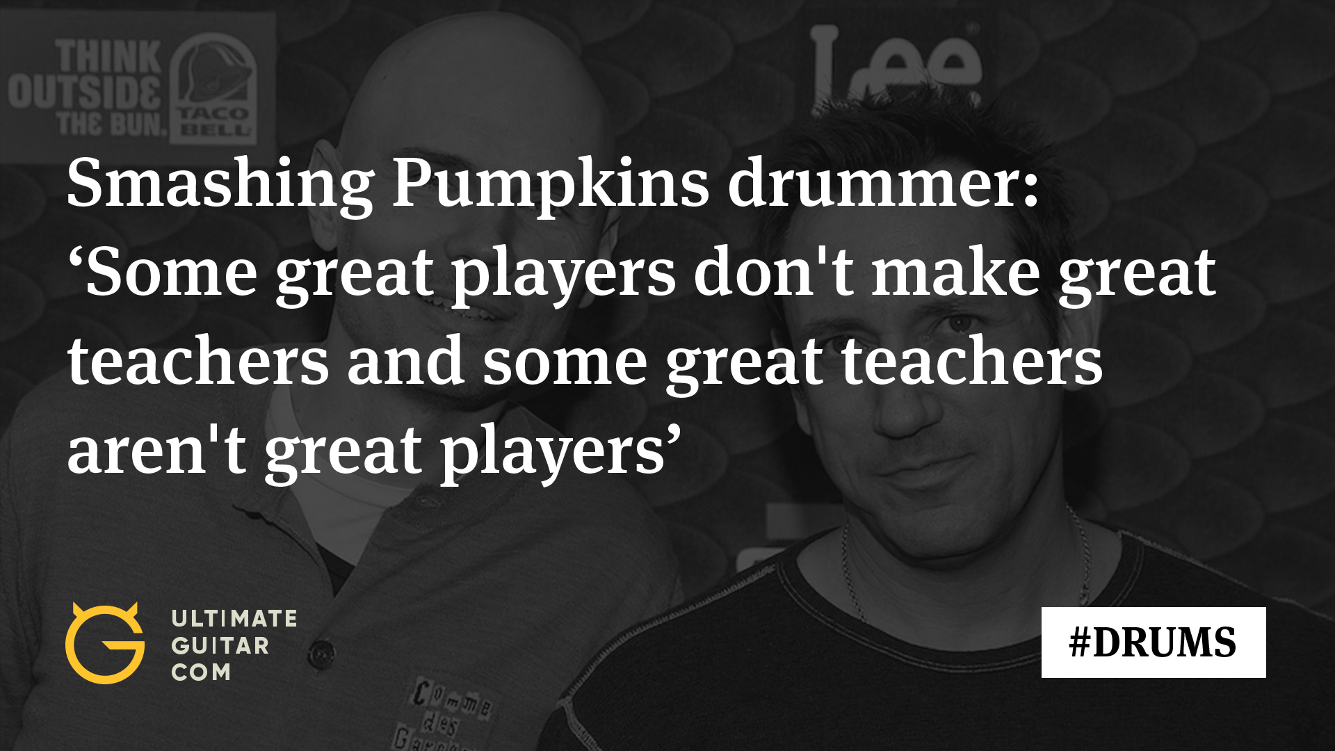 Smashing Pumpkins Drummer Jimmy Chamberlin: How Much Drum Lessons Meant to Me - Music News @ Ultimate-Guitar.ComSmashing Pumpkins Drummer Jimmy Chamberlin: How Much Drum Lessons Meant to Me - 웹