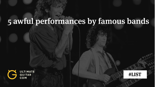 5 Awful Performances by Famous Rock Bands