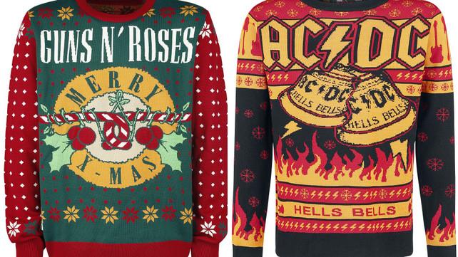 Black Sabbath Christmas Sweater.13 Ugly Rock Christmas Sweaters Music News Ultimate