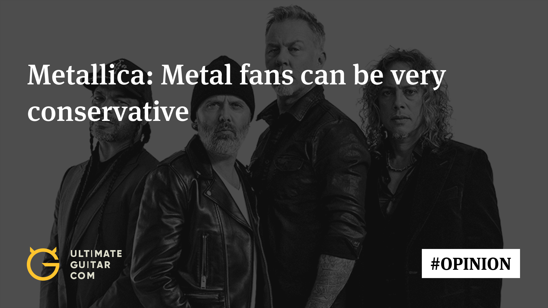 Metallica: Rock & Metal Fans Can Be Quite Conservative & Suffocating