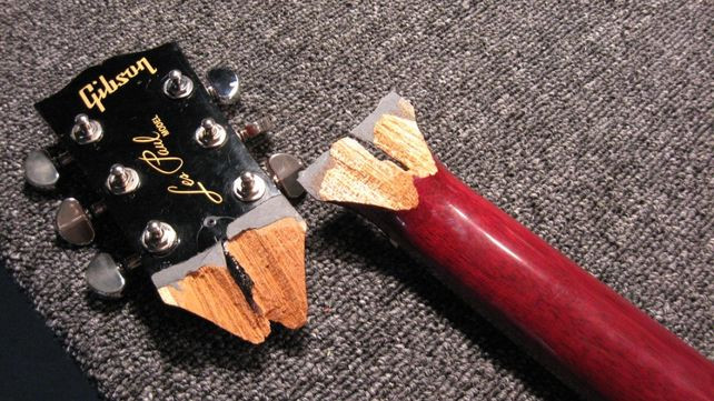 Gibson Guitars For Sale >> Gibson Announces Broken Neck Limited Edition Les Paul The Price Is