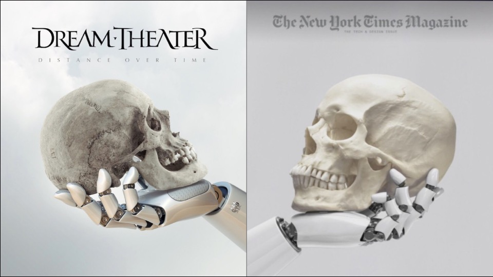 dream theater distance over time  NY Times Magazine Accused of Ripping Off Dream Theater. Design ...