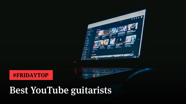 Friday Top: 25 Best YouTube Guitarists   Articles @ Ultimate-Guitar Com