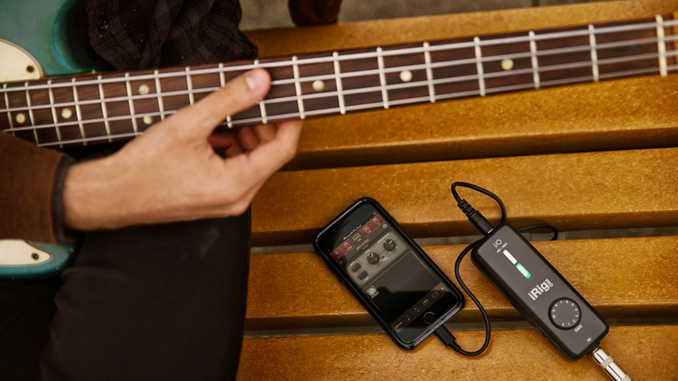 irig pro i o review all you need to do is to connect your guitar to ik multimedia guitar. Black Bedroom Furniture Sets. Home Design Ideas