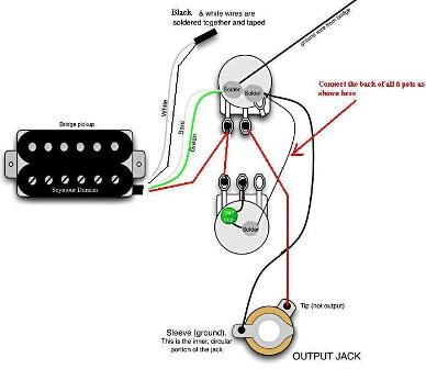 installing dimarzio s in eastwood airline town and country rh ultimate guitar com dimarzio jazz bass wiring diagram Pickup Wiring Diagram Schecter C 7