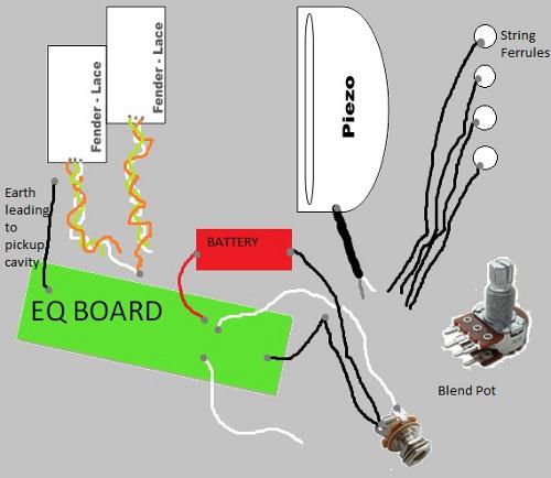 fender a/e precision bass wiring help  ultimate guitar