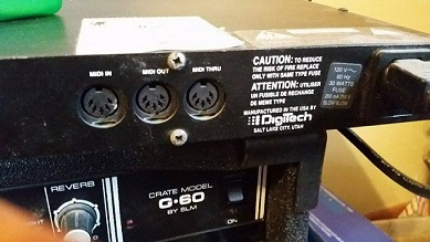 Rare digitech legend 2 ii 1994 black/gold gsp21 gsp 21 | reverb.